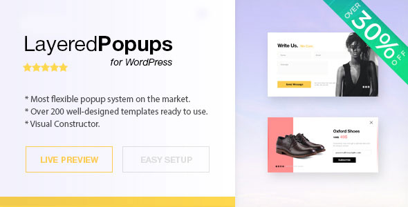 Layered Popups for WordPress v6.57