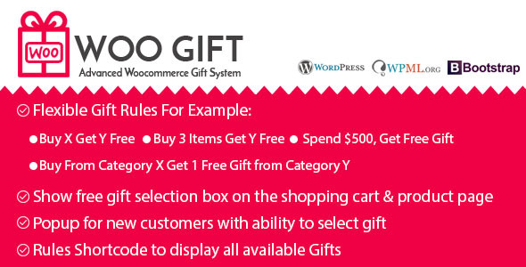 Woo Gift v5.2 - Advanced Woocommerce Gift Plugin