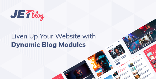 JetBlog v2.2.0 - Blogging Package for Elementor Page Builder