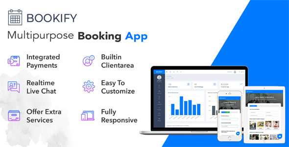 Bookify v1.4 - Multipurpose Booking App