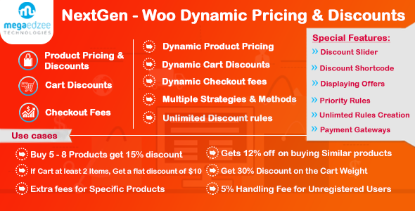 NextGen v5.0.5 - WooCommerce Dynamic Pricing and Discounts