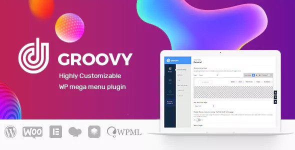 Groovy Menu v1.9.7 - WordPress Mega Menu Plugin