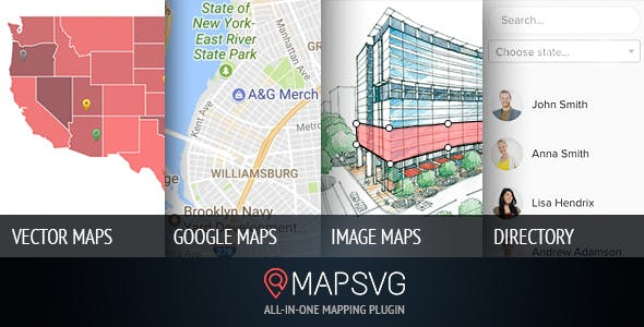 MapSVG v5.7.10 - The last WordPress map plugin youll ever need