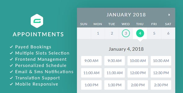 gAppointments v1.9.5 - Appointment booking addon for Gravity Forms