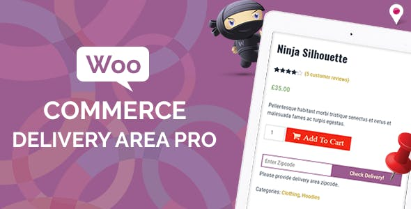 WooCommerce Delivery Area Pro v2.0.5