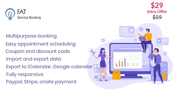 Fat Services Booking v2.17 - Automated Booking and Online Scheduling