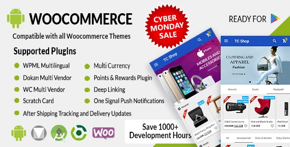 Android Woocommerce v1.9.2 - Universal Native Android Ecommerce / Store Full Mobile Application