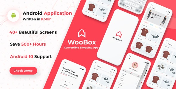 WooBox v7.0 - Native Android App for WooCommerce