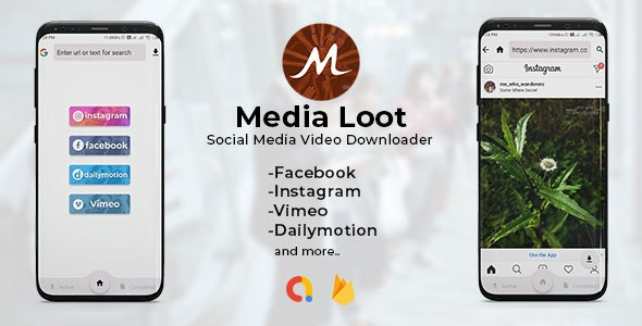 Media Loot v1.0 - The Ultimate Social Media Downloader
