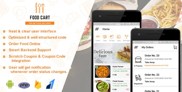 Food Cart v1.0 - Online Food Delivery App