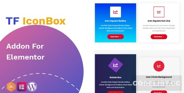 TF IconBox Addon for elementor v1.0.0